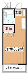 橋本ハイツ[2階]の間取り