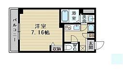 プリエール新大阪イースト[4階]の間取り