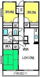 マウントフィールド大宮壱番館[3階]の間取り