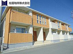 愛知県豊橋市牛川町字東側の賃貸アパートの外観