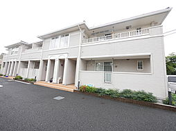 神奈川県海老名市中新田3丁目の賃貸アパートの外観