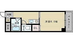 ロイヤルメゾン淡路[5階]の間取り