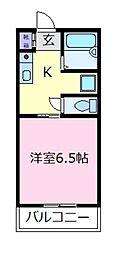 エルスール[3階]の間取り