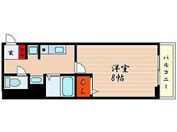 滋賀県彦根市岡町の賃貸アパートの間取り