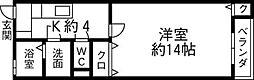 松福園 六番館[103号室]の間取り