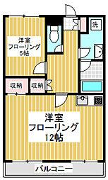 芦花ハウス[4階]の間取り