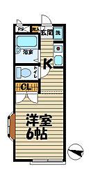 メゾン・ド・大船[201号室]の間取り