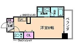 BPRレジデンス京町堀[12階]の間取り