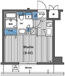 ガラ・グランディ西新宿[7階]の間取り