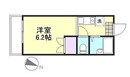 アクアマリン新倉敷[2階]の間取り