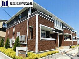 愛知県豊橋市小松町の賃貸アパートの外観
