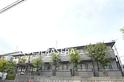 大阪府箕面市粟生新家2丁目の賃貸アパートの外観