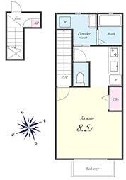ルミナスパレス[2階]の間取り