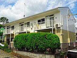 東京都青梅市梅郷1丁目の賃貸アパートの外観
