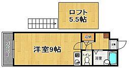 ウインズ藤崎II[503号室]の間取り