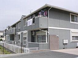 大阪府堺市中区東八田の賃貸アパートの外観