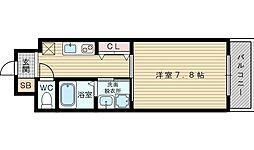 ドゥ・マノワール[4階]の間取り