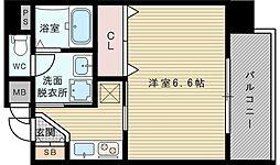 プレミアムステージ新大阪駅前[9階]の間取り