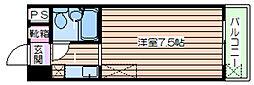 シャルム高倉[2階]の間取り