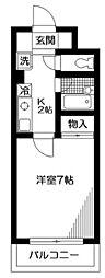 第2押本ビル[2階]の間取り