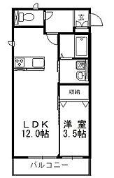 HOPELODGE  I[2階]の間取り