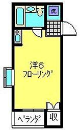 ハイツBUNMEI[1階]の間取り