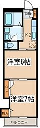 レフィナード・カーサ[2階]の間取り