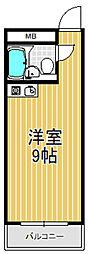 小若江ハイツ[2階]の間取り