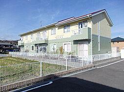 滋賀県高島市新旭町熊野本2丁目の賃貸アパートの外観