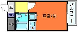 ペイサージュSANKO[2階]の間取り
