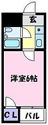 フジタビル[3階]の間取り