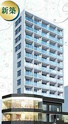 東京都港区麻布十番2丁目の賃貸マンションの外観