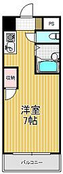 ラフォーレ菱屋西[1階]の間取り