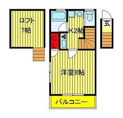フラット12 (FLAT12)[1階]の間取り