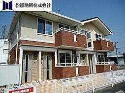 愛知県豊橋市大村町字橋元の賃貸アパートの外観