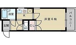 マンションサンロード[4階]の間取り