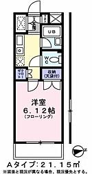 コートフローラ[1階]の間取り