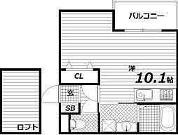 ヴィアノ須磨浦通6[2階]の間取り