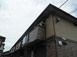 千葉県柏市東中新宿4丁目の賃貸アパートの外観