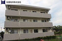 愛知県豊橋市飯村町字北池上の賃貸マンションの外観