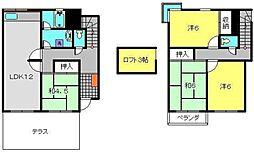 [テラスハウス] 神奈川県横浜市港南区丸山台2丁目 の賃貸【/】の間取り