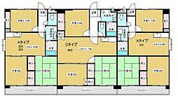第2祥栄ビル[203号室]の間取り