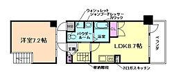 エスリード大阪シティーウエスト[3階]の間取り