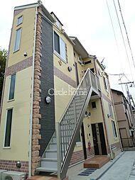 神奈川県横浜市鶴見区安善町1丁目の賃貸アパートの外観