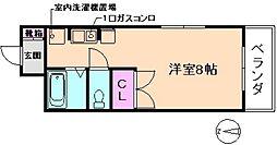 大阪府豊中市原田元町2丁目の賃貸マンションの間取り