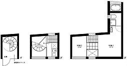 CASA COMPLESSO[3階]の間取り