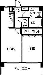 レークサイドSK[502号室]の間取り