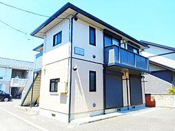 神奈川県大和市上草柳1丁目の賃貸アパートの外観
