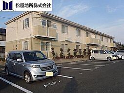 愛知県豊橋市松井町字松井の賃貸アパートの外観