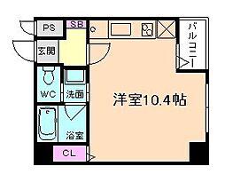 パレス東洋福島館[2階]の間取り
